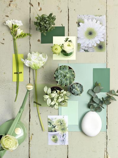 Trendkleur uit de tuin: groen