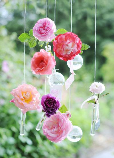 Zelf maken: mobile van rozen