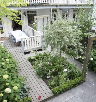 Tips en tricks voor een kleine tuin for Kleine stadstuin ideeen