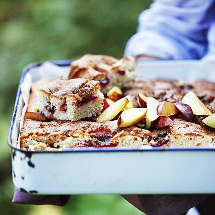 appelboom kiezen, appel-pruimencake