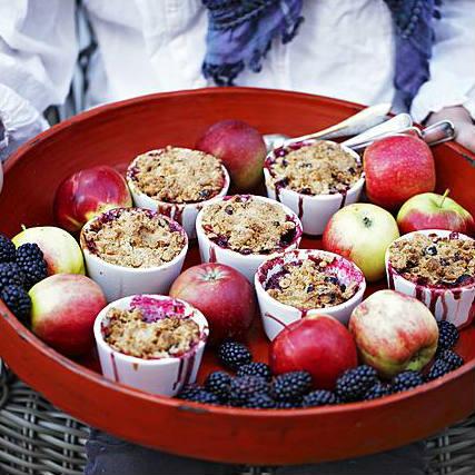 appelboom kiezen, appel-bramencrumble