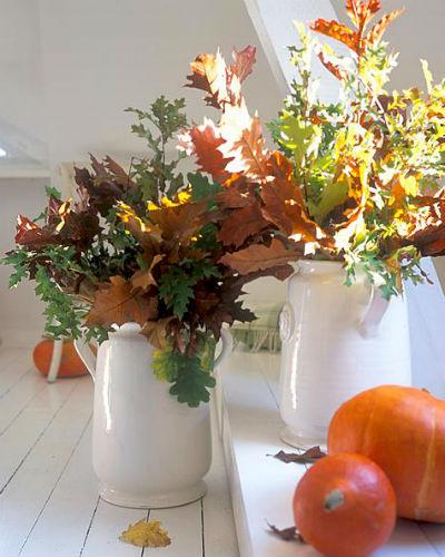 Decoratie idee n met herfstblad - Home decoratie ideeen ...