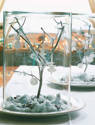 Zelf maken: bloemenvaas wordt kerststolp