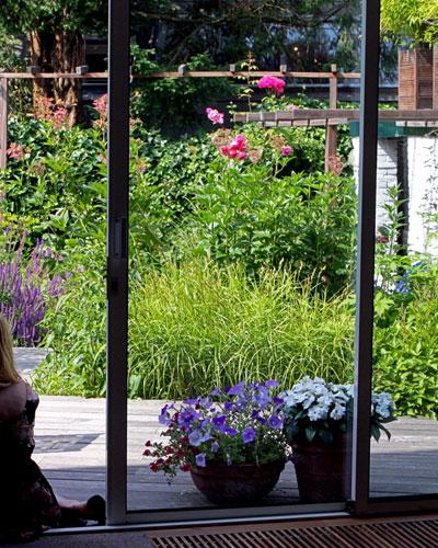 Kleine tuin wordt groene oase