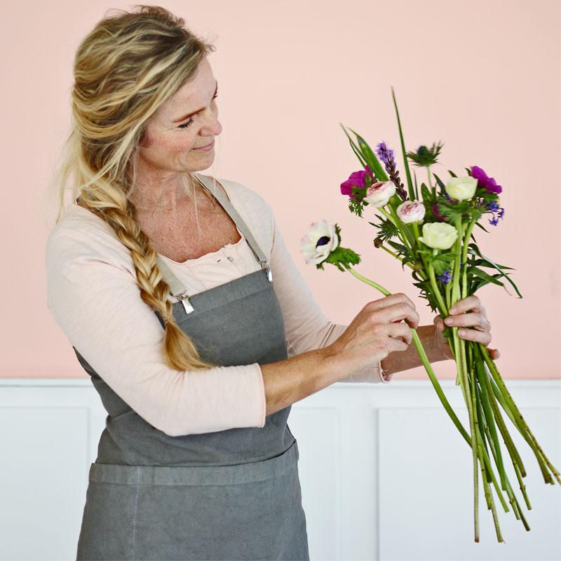 Ingrid Jansen is een bloemenmeisje