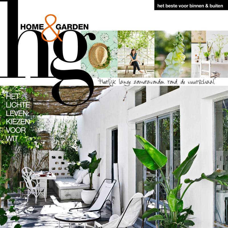 Nu te koop: het juli-nummer van Home&Garden