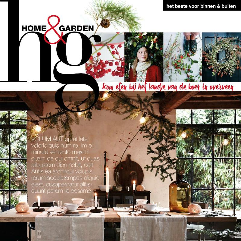 Nu te koop: het decembernummer van Home&Garden