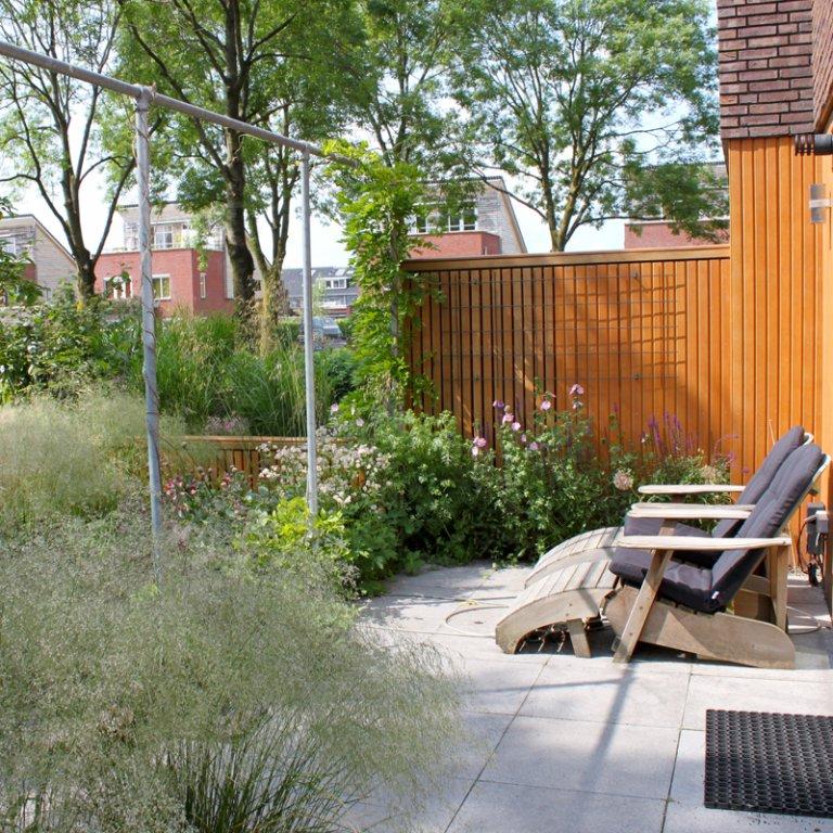 Kleine tuin in Groningen