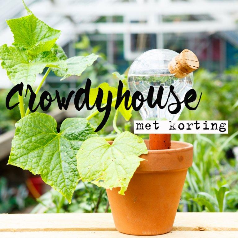 H&G-korting bij Crowdyhouse