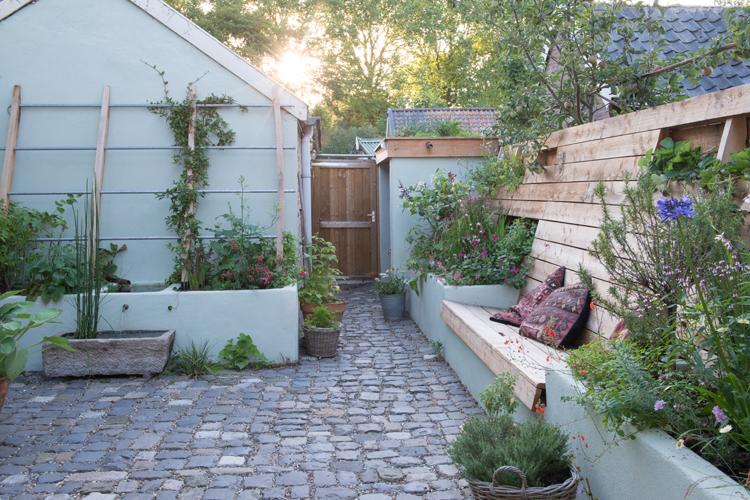 Kleine tuin in Woudrichem