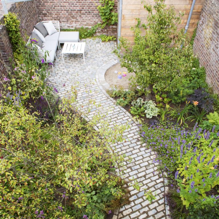 Kleine tuin in Roermond