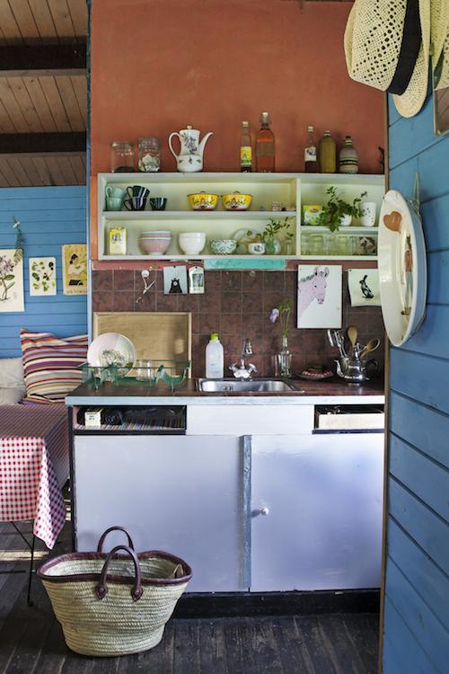 Keuken tuinhuis