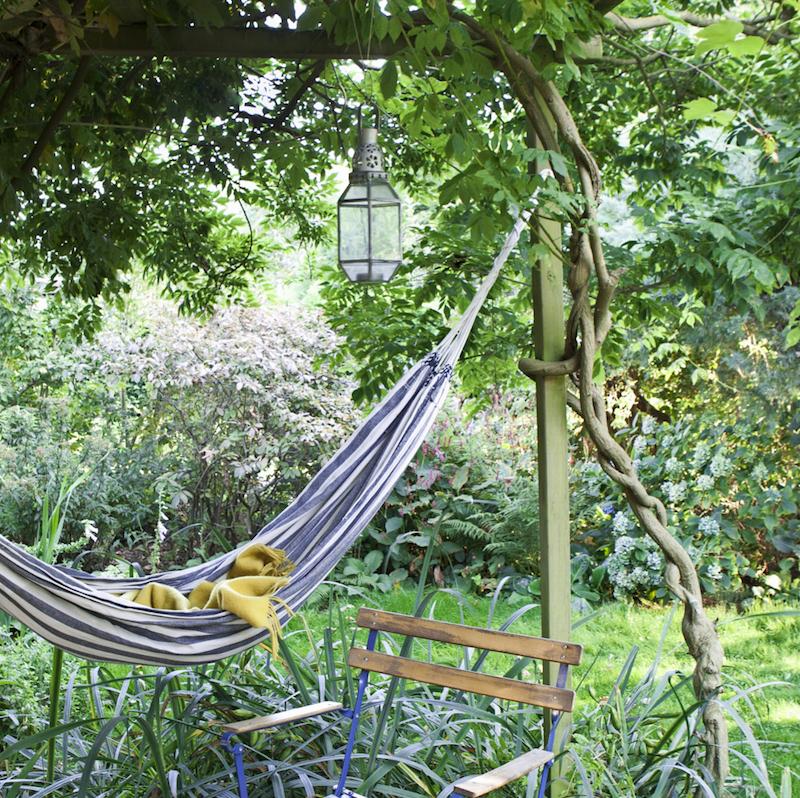 Tuin hangmat Anna de Leeuw