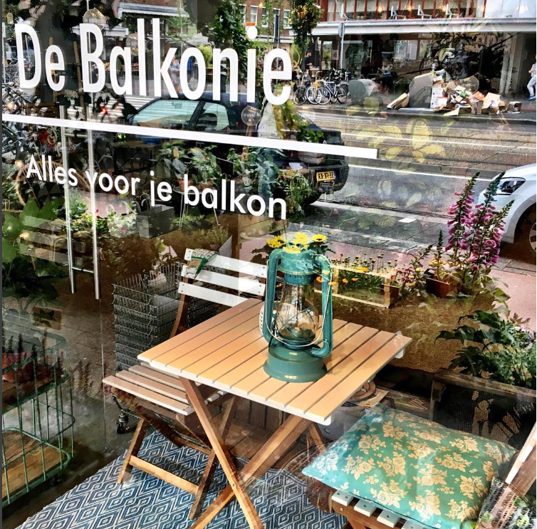 Groene hotspot: De Balkonie (Amsterdam)