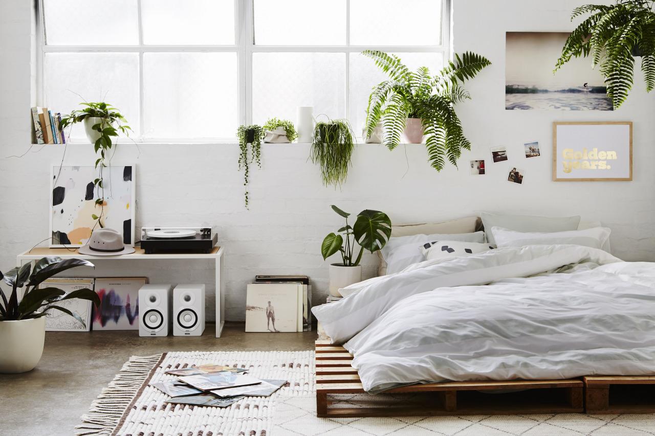 Planten slaapkamer