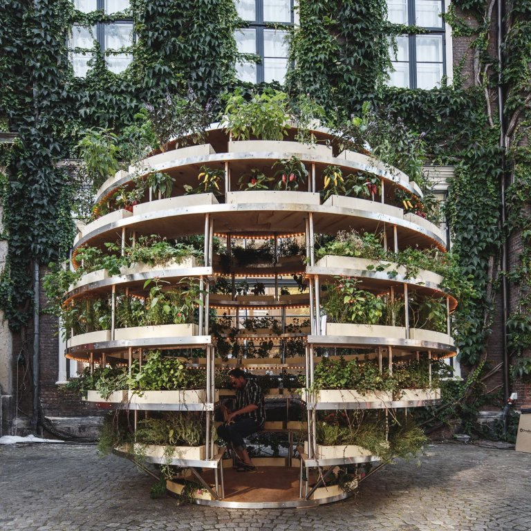 The Growroom: Bolvormige Moestuin