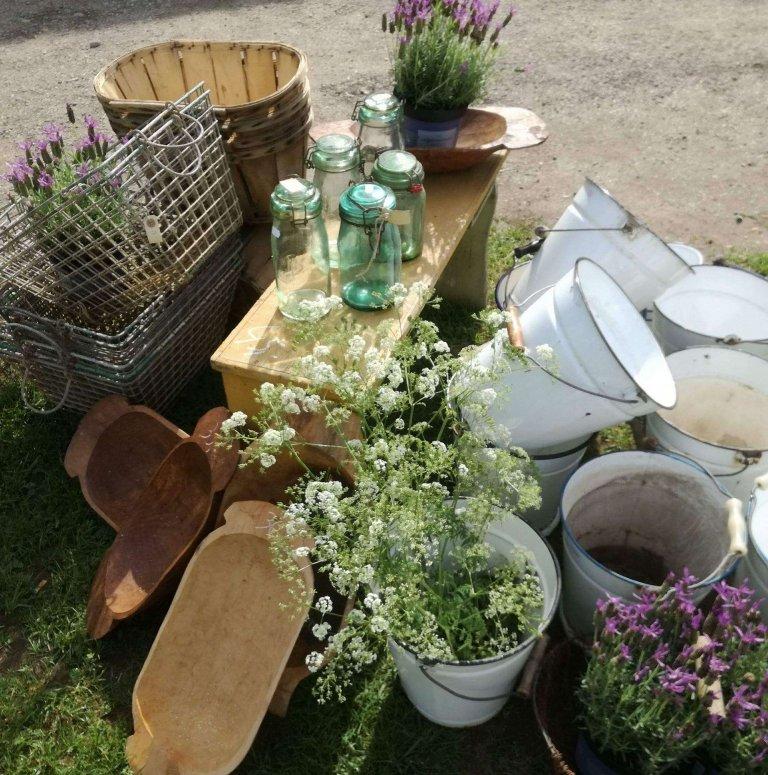 'Brocante Liefde' Fair in Kasteel Maurick