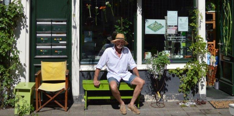 Dubbelgroen: scharrelen door Amsterdam