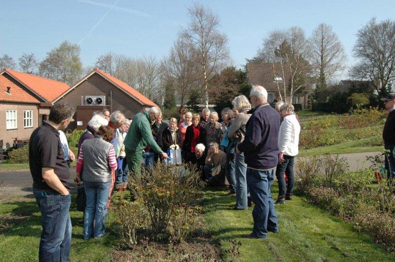 Snoeicursus/workshop 'Mooie rozen in uw tuin' bij Belle Epoque Aalsmeer