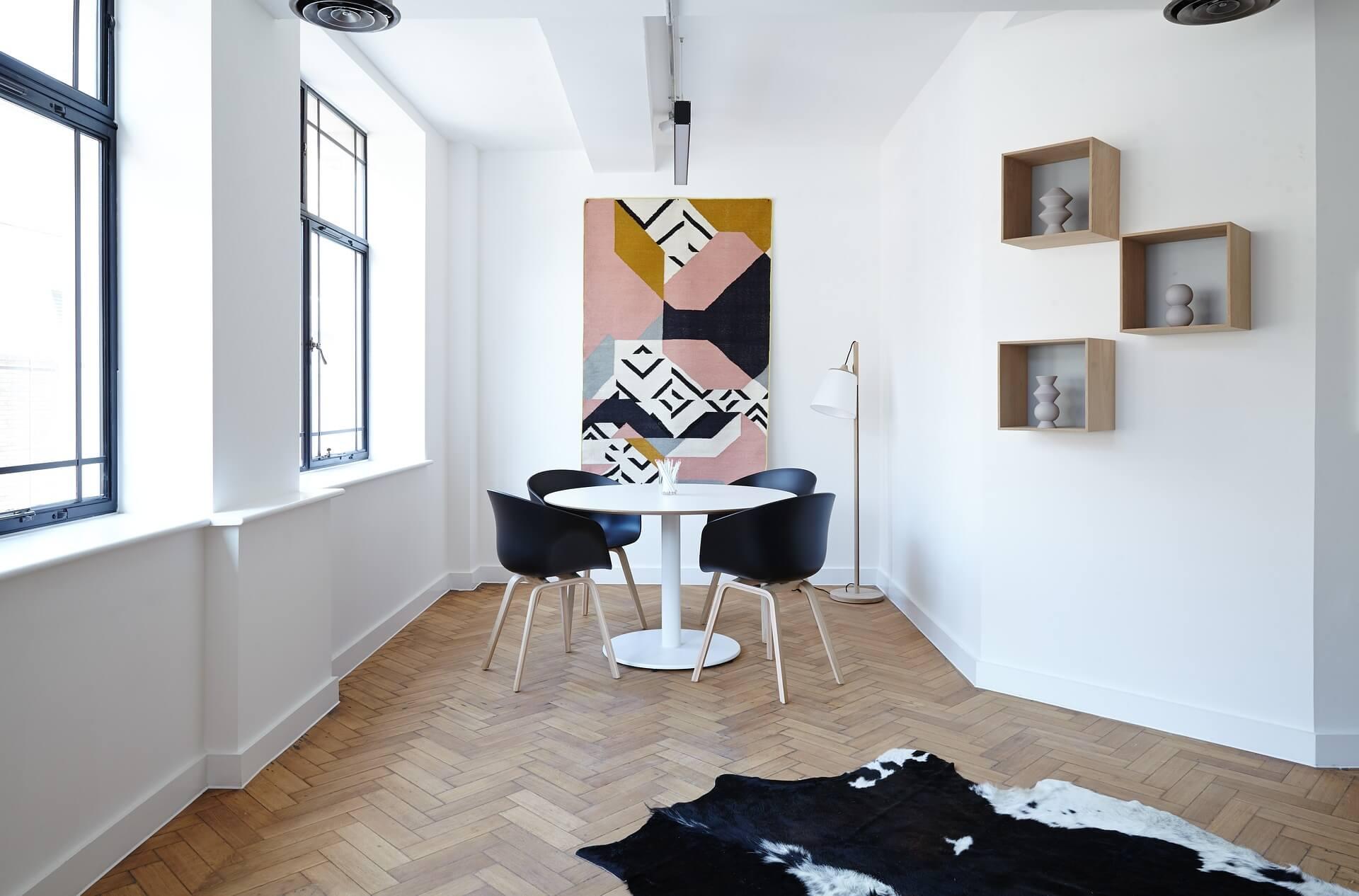 Kunst in interieur