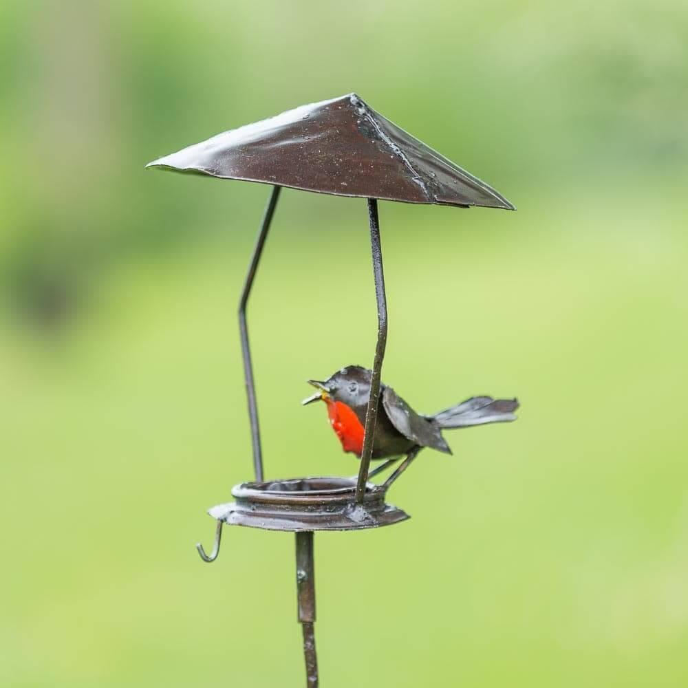 Vogelhuis beeld