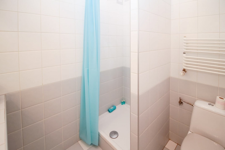 Douche en WC