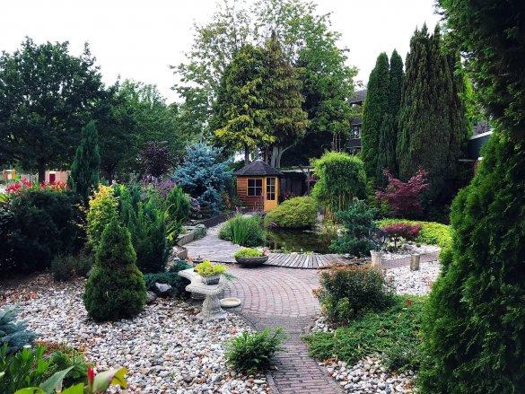 Inrichten tuin